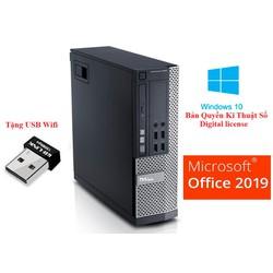 Cây Dell OPTIPLEX 7020 Sff Siêu nhanh CPU i5 4570 Ram 8Gb SSD 120 Gb Bảo hành 24T Win 10 Bản quyền,Chưa bao gồm màn hình.