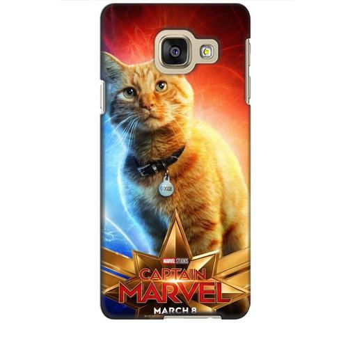 Ốp lưng nhựa dẻo dành cho Samsung Galaxy A3 2016 in Cat Marvel Mẫu 1