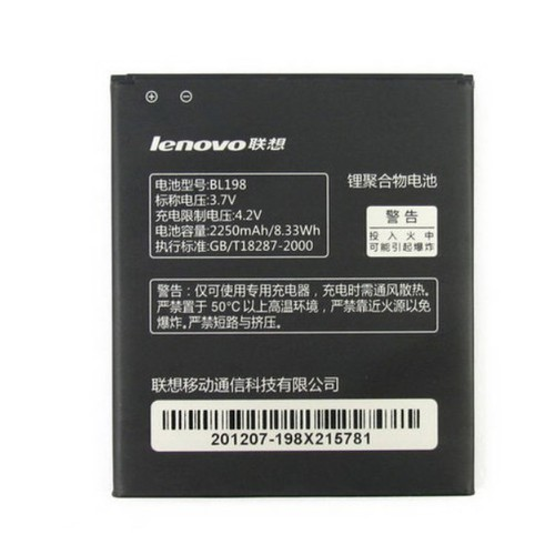 Pin Lenovo A850 K860I S890 BL198