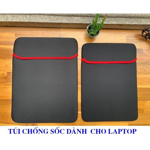 Túi chống sốc laptop - đựng max 15.6inch - Chất liệu nỉ cao cấp