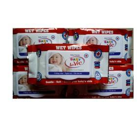 8 hộp khăn giấy ướt hương dịu hộp 80 gr - khan giay uot - kh8