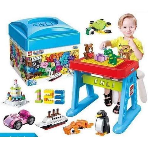 Hộp đồ chơi lắp ghép 460 miếng