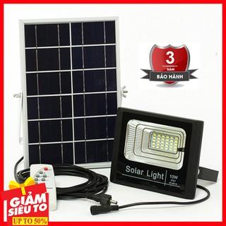 Đèn năng lượng mặt trời - tấm năng lượng mặt trời - den nang luong mat troi 10W - Đèn năng lượng mặt trời 10W thumbnail