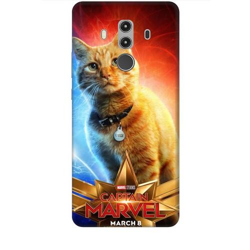 Ốp lưng nhựa dẻo dành cho Huawei Mate 10 Pro in Cat Marvel Mẫu 1