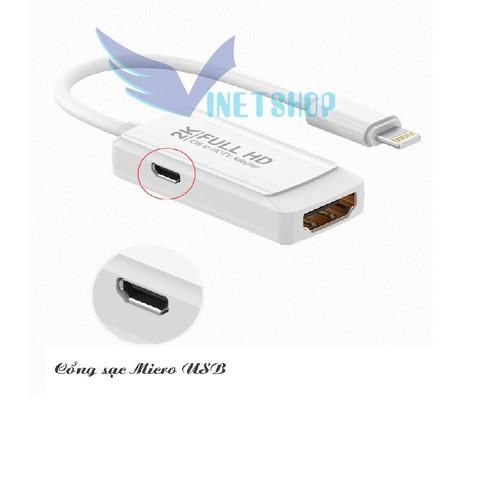 Cáp chuyển đổi Lighting sang HDMI 2K