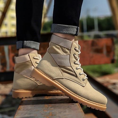 Giày boot nam  - Giày thể thao nam cao cổ  - Giày nam