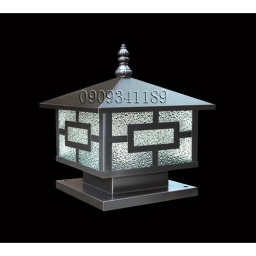 Đèn trụ cổng - Đèn trụ bờ bao - Đèn trụ hàng rào kích thước 40cm Tặng kèm bóng LED