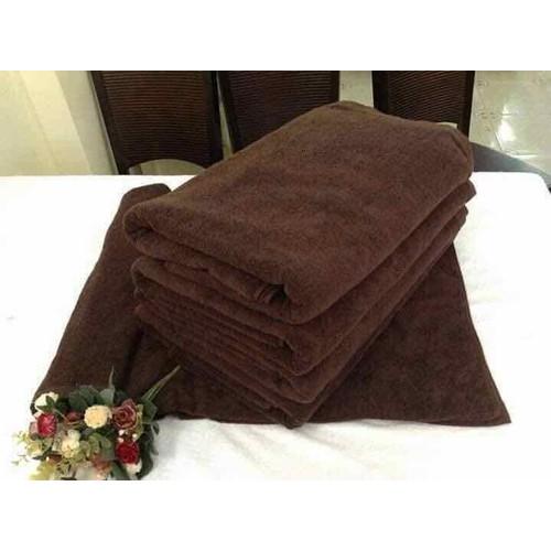 Khăn tắm nâu xuất nhật chuyên dùng cho Spa