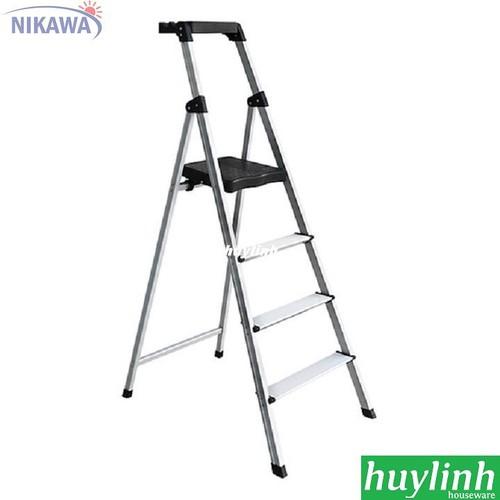 Thang nhôm ghế Nikawa NKP-04 -4 bậc