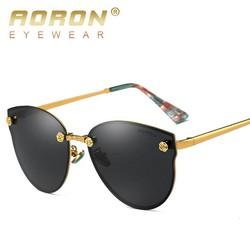 Fullbox - Hàng xịn Kính mắt phân cực Nữ cao cấp Chính hãng Aoron, Chống tia UV400, thời trang Italia2019