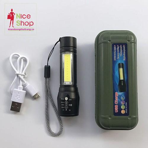Đèn pin mini đa chức năng chống nước hình thật - PK095
