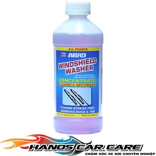 Rửa Làm Sạch Kính Ô Tô Abro Windshield Washer Cleaner US 473ML