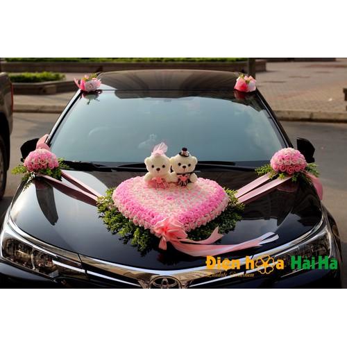 Mẫu hoa nhựa trang trí xe cưới mầu hồng - Điện Hoa Hải Hà - 6597949 , 16650350 , 15_16650350 , 1230000 , Mau-hoa-nhua-trang-tri-xe-cuoi-mau-hong-Dien-Hoa-Hai-Ha-15_16650350 , sendo.vn , Mẫu hoa nhựa trang trí xe cưới mầu hồng - Điện Hoa Hải Hà