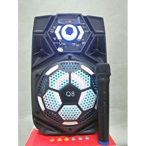 Loa Kéo Bluetooth Karaoke KingBass Q7 Tặng Míc Không Dây - 4748084 , 16669774 , 15_16669774 , 1190000 , Loa-Keo-Bluetooth-Karaoke-KingBass-Q7-Tang-Mic-Khong-Day-15_16669774 , sendo.vn , Loa Kéo Bluetooth Karaoke KingBass Q7 Tặng Míc Không Dây