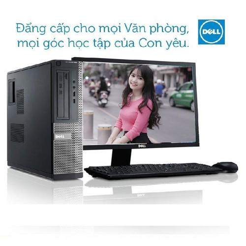 Bộ máy tính để bàn Dell OPTIPLEX 790 Sff, b02, CPU Core i3-2100, Ram 4GB, HDD 500GB, DVD, Màn hình Dell 19 Monitor 18.5 inch, hàng nhập khẩu, bảo hành 24 tháng, tặng USB Wifi, Chuột, Phím. - 6617253 , 16665619 , 15_16665619 , 4890000 , Bo-may-tinh-de-ban-Dell-OPTIPLEX-790-Sff-b02-CPU-Core-i3-2100-Ram-4GB-HDD-500GB-DVD-Man-hinh-Dell-19-Monitor-18.5-inch-hang-nhap-khau-bao-hanh-24-thang-tang-USB-Wifi-Chuot-Phim.-15_16665619 , sendo.vn , Bộ