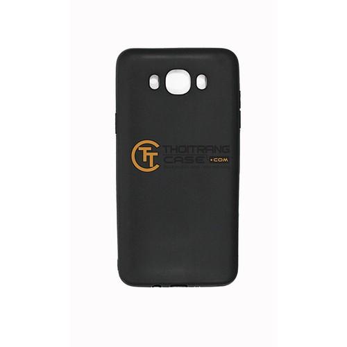 Ốp Lưng SamSung Galaxy J5 2016 silicone đen trơn