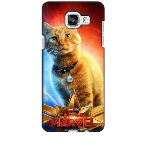 Ốp lưng nhựa dẻo dành cho Samsung Galaxy A5 2016 in Cat Marvel Mẫu 1