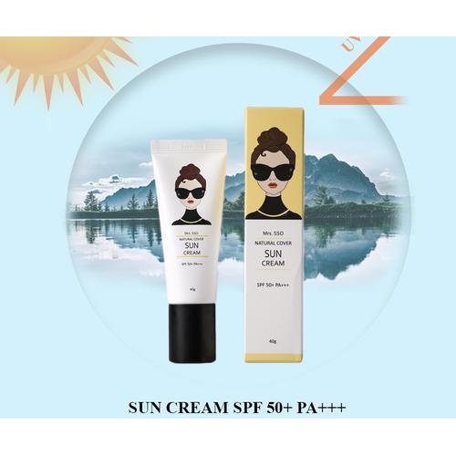 KEM CHỐNG NẮNG HÀN QUỐC Mrs.SSO Cover Sun Cream SPF50+ PA+++