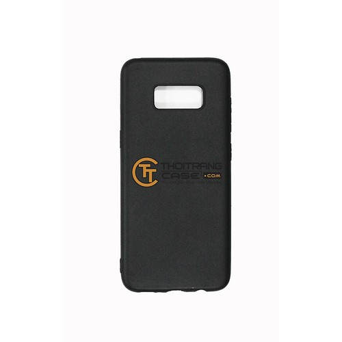 Ốp Lưng SamSung Galaxy S8 Plus silicone đen trơn