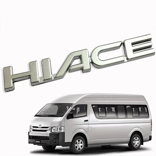Logo chữ nổi HIACE dán trang trí đuôi xe - 6611566 , 16661113 , 15_16661113 , 98000 , Logo-chu-noi-HIACE-dan-trang-tri-duoi-xe-15_16661113 , sendo.vn , Logo chữ nổi HIACE dán trang trí đuôi xe