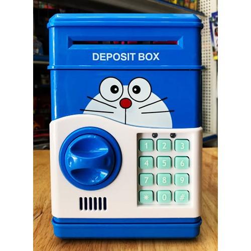Két sắt hình thú vặn hút tiền tự động dễ thương dạy trẻ cách tiết kiệm tiền từ nhỏ
