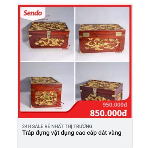 hộp trang sức cỡ lớn đai và dat vàng
