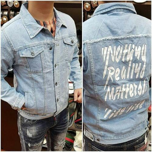 áo khoác jeans nam