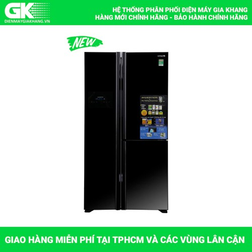 TỦ LẠNH HITACHI R-FM800PGV2 GBK 600 LÍT INVERTER - 6608887 , 16658923 , 15_16658923 , 39590000 , TU-LANH-HITACHI-R-FM800PGV2-GBK-600-LIT-INVERTER-15_16658923 , sendo.vn , TỦ LẠNH HITACHI R-FM800PGV2 GBK 600 LÍT INVERTER