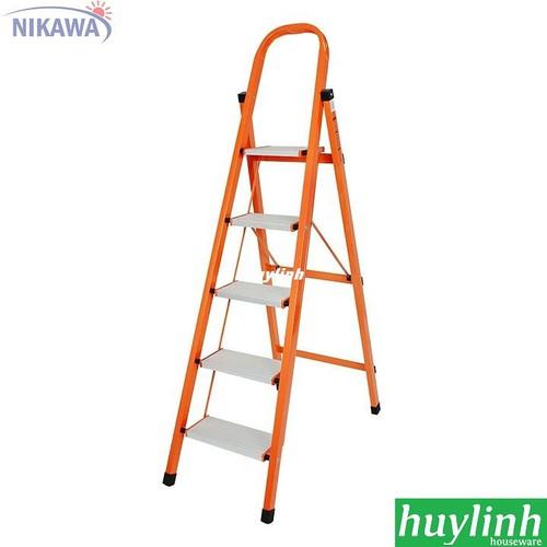 Thang nhôm ghế Nikawa NKS-05 - 5 bậc - BH 18 tháng - 6591404 , 16646047 , 15_16646047 , 1300000 , Thang-nhom-ghe-Nikawa-NKS-05-5-bac-BH-18-thang-15_16646047 , sendo.vn , Thang nhôm ghế Nikawa NKS-05 - 5 bậc - BH 18 tháng