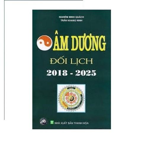Sách - Âm dương đối lịch 2018-2025