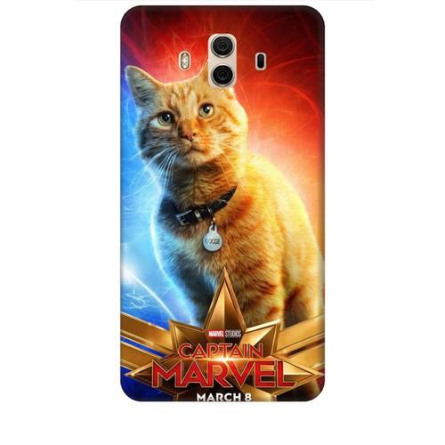 Ốp lưng nhựa dẻo dành cho Huawei Mate 10 in Cat Marvel Mẫu 1