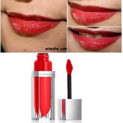 Son bóng Maybelline Elixir Liquid Balm Lip Signature Scarlet