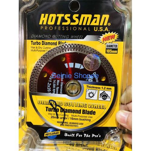 Lưỡi cắt gạch đa năng Hotsman 105mm hàng tem chính hãng loại 1