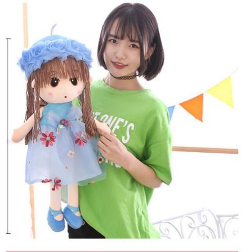 Búp Bê bằng vải bông 45cm Cực Đáng Yêu cho bé gái- xanh lam - 4569215 , 16659522 , 15_16659522 , 167000 , Bup-Be-bang-vai-bong-45cm-Cuc-Dang-Yeu-cho-be-gai-xanh-lam-15_16659522 , sendo.vn , Búp Bê bằng vải bông 45cm Cực Đáng Yêu cho bé gái- xanh lam