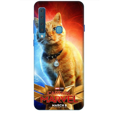 Ốp lưng nhựa dẻo dành cho Samsung GalaxyA9 2018 in Cat Marvel Mẫu 1