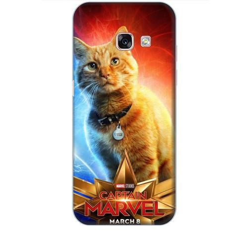 Ốp lưng nhựa dẻo dành cho Samsung Galaxy A3 2017 in Cat Marvel Mẫu 1