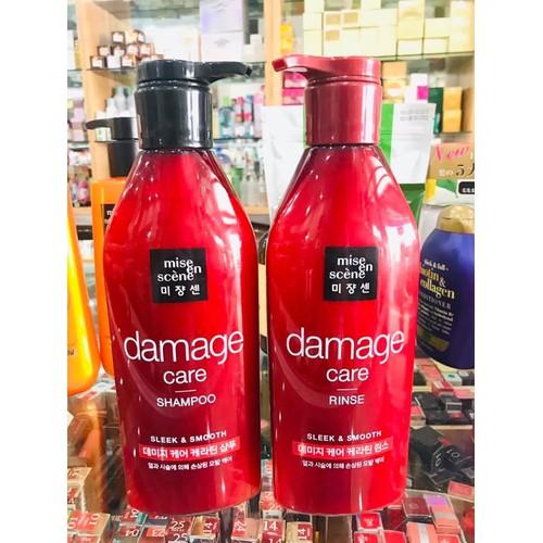 Dầu gội dưỡng tóc Miseen Damage Care