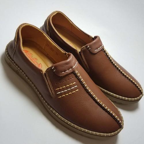 Giày mọi nam da bò thật cao cấp bảo hành một năm DN577
