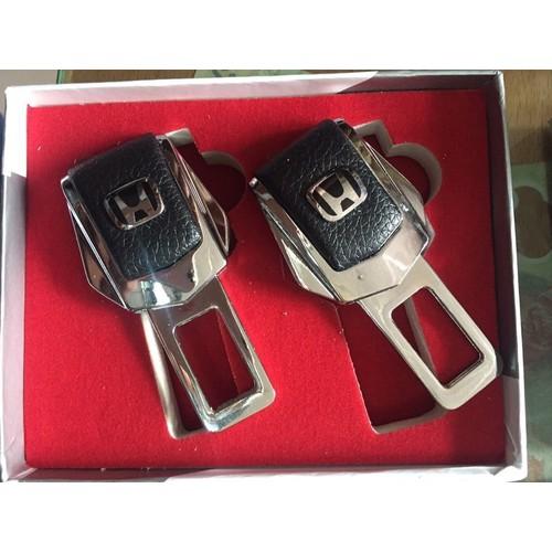 Bộ 2 cài chốt an toàn xe hơi có logo HONDA