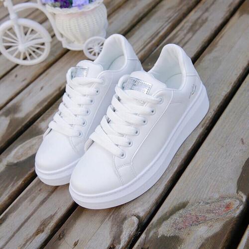 Giày bata trắng siêu dể thương - 6647012 , 16688448 , 15_16688448 , 240000 , Giay-bata-trang-sieu-de-thuong-15_16688448 , sendo.vn , Giày bata trắng siêu dể thương