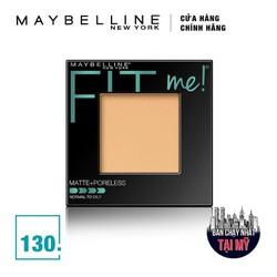 Phấn Phủ Mịn Lì Tự Nhiên Maybelline Fit Me Matte + Poreless Màu 130 Buff Beige 9g