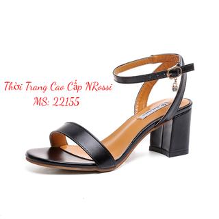 Giày sandal nữ cao gót 5cm size lớn 40 41 42 43 - 22155 NRossi thumbnail
