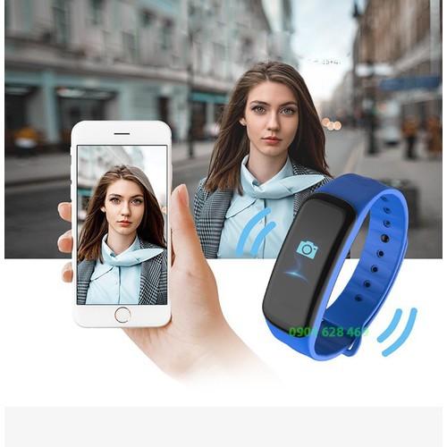 Vòng đeo tay thông minh, Đo sức khỏe, báo tin điện thoại Wearfit C1