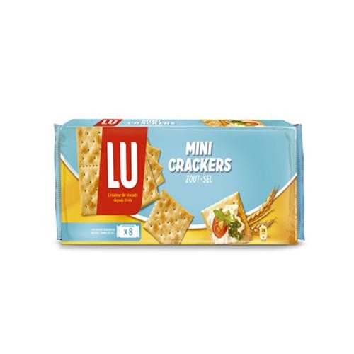 Bánh Cracker Mặn Mini hiệu Lu 250g