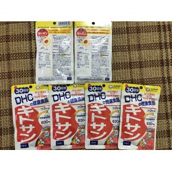 Viên uống giảm cân tan mỡ bụng Chitosan DHC 30 ngày