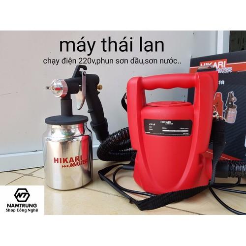 Máy phun sơn cầm tay Thái Lan Hikari - 6657668 , 16696920 , 15_16696920 , 1080000 , May-phun-son-cam-tay-Thai-Lan-Hikari-15_16696920 , sendo.vn , Máy phun sơn cầm tay Thái Lan Hikari