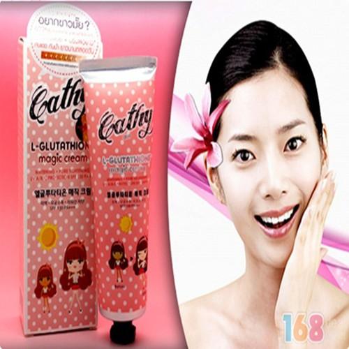 Kem trắng da toàn thân Cathy L-Glutathione Magic Cream