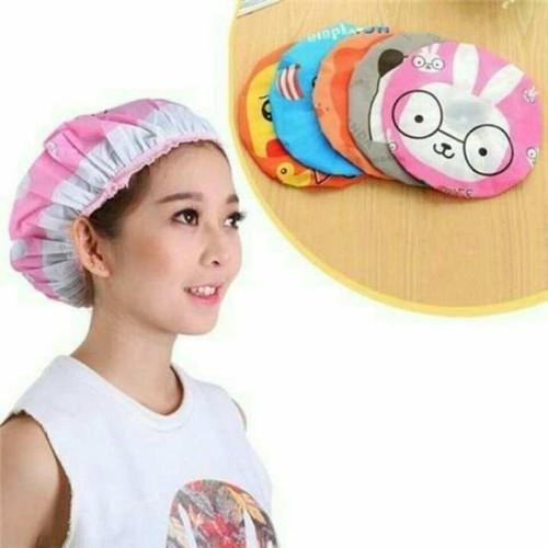 Mũ chụp đầu tắm kiểu dáng Hàn Quốc