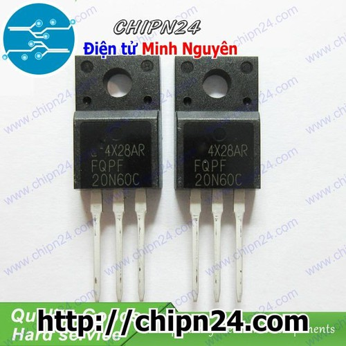 MOSFET 20N60 20N60C FQPF20N60C TO-220 20A 600V Kênh N - 6647253 , 16688736 , 15_16688736 , 18000 , MOSFET-20N60-20N60C-FQPF20N60C-TO-220-20A-600V-Kenh-N-15_16688736 , sendo.vn , MOSFET 20N60 20N60C FQPF20N60C TO-220 20A 600V Kênh N