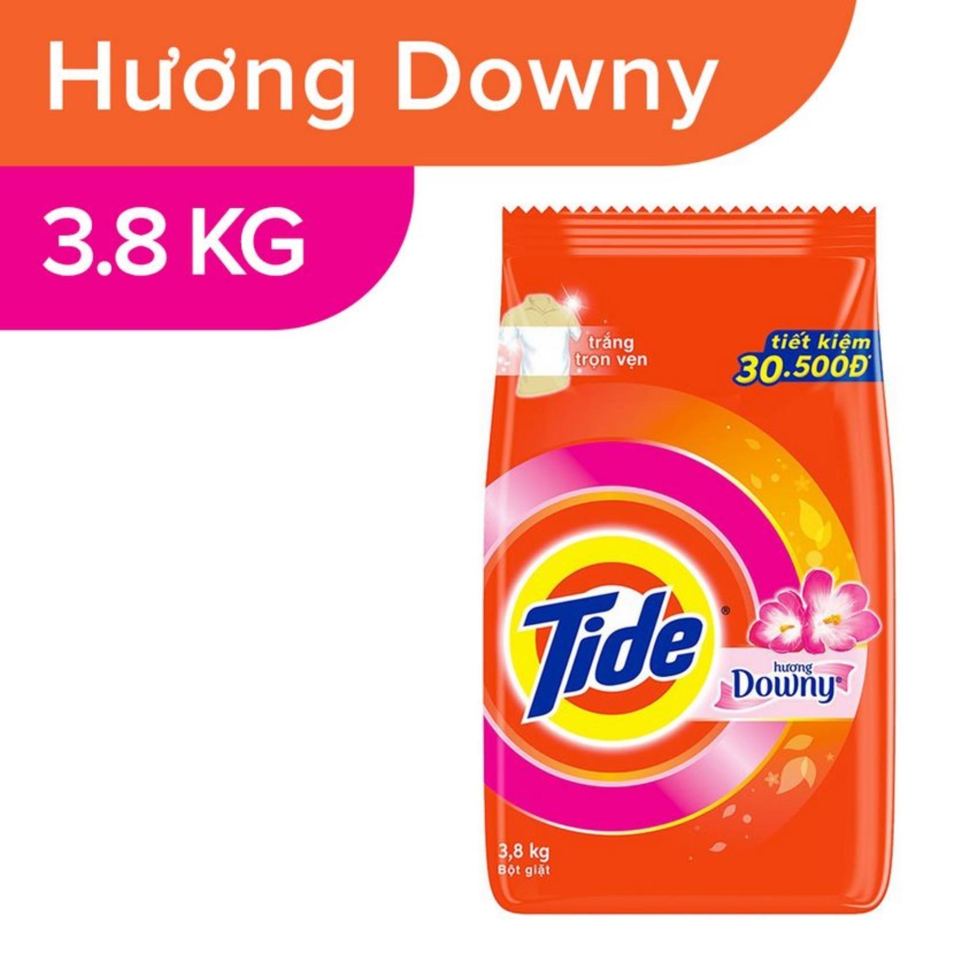 Bột Giặt Tide Hương Downy Túi 3.8KG - 4902430647250